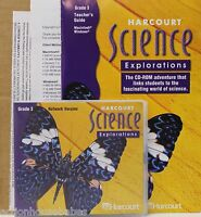 Harcourt Science Explorations Cd-rom & Teacher Guide Package For Grade 3