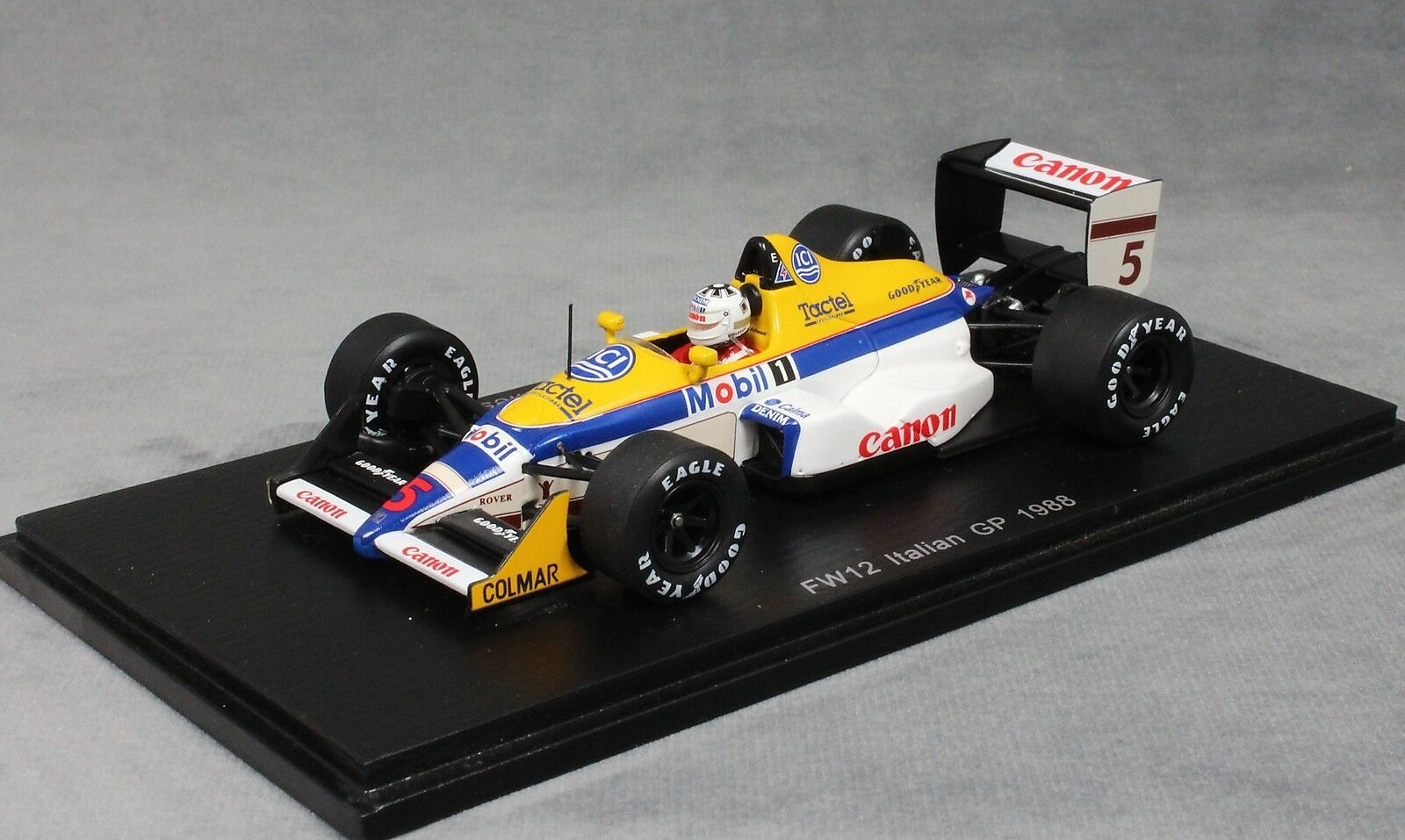 Spark Williams FW12 Italian Grand Prix 1988 Jean-Louis Schlesser S4029 1 43 NEW