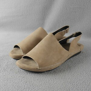 GENTLE-SOULS-by-KENNETH-COLE-034-Edge-Slip-034-MUSHROOM-BROWN-Pull-On-Flat-Size-7-5-ANB