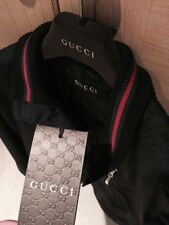 Mens Genuine Gucci Bomber Jacket Size Large Men's RRP £849 *Brand New* BNWT