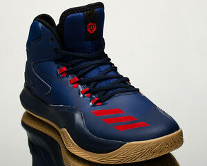 88c64ef6dfe2 adidas D Rose Dominate IV 4 men basketball sneakers NEW navy red ...