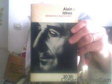 ALAIN iDEES Introduction a la philosophie