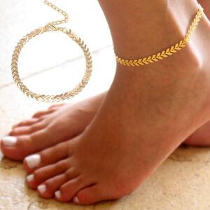 Boho-Women-Barefoot-Arrow-Ankle-Chain-Anklet-Bracelet-Foot-Jewelry-Sandal-Beach
