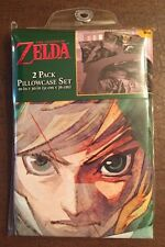 The Legend Of Zelda Skyward Sword Super Soft 2 Pack Pillowcase Set New In Pack!