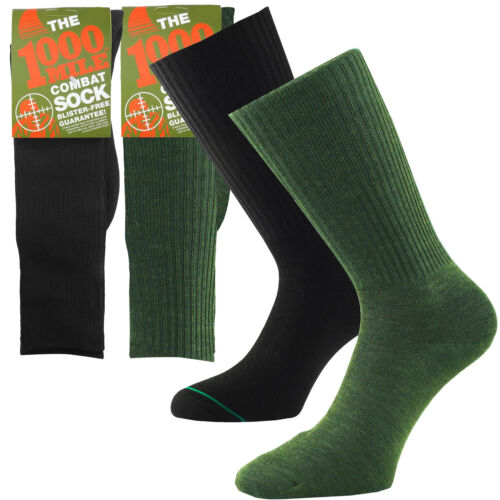 1000 Mile Blister Free Combat Walking Hiking Military Grade Double Layer Socks