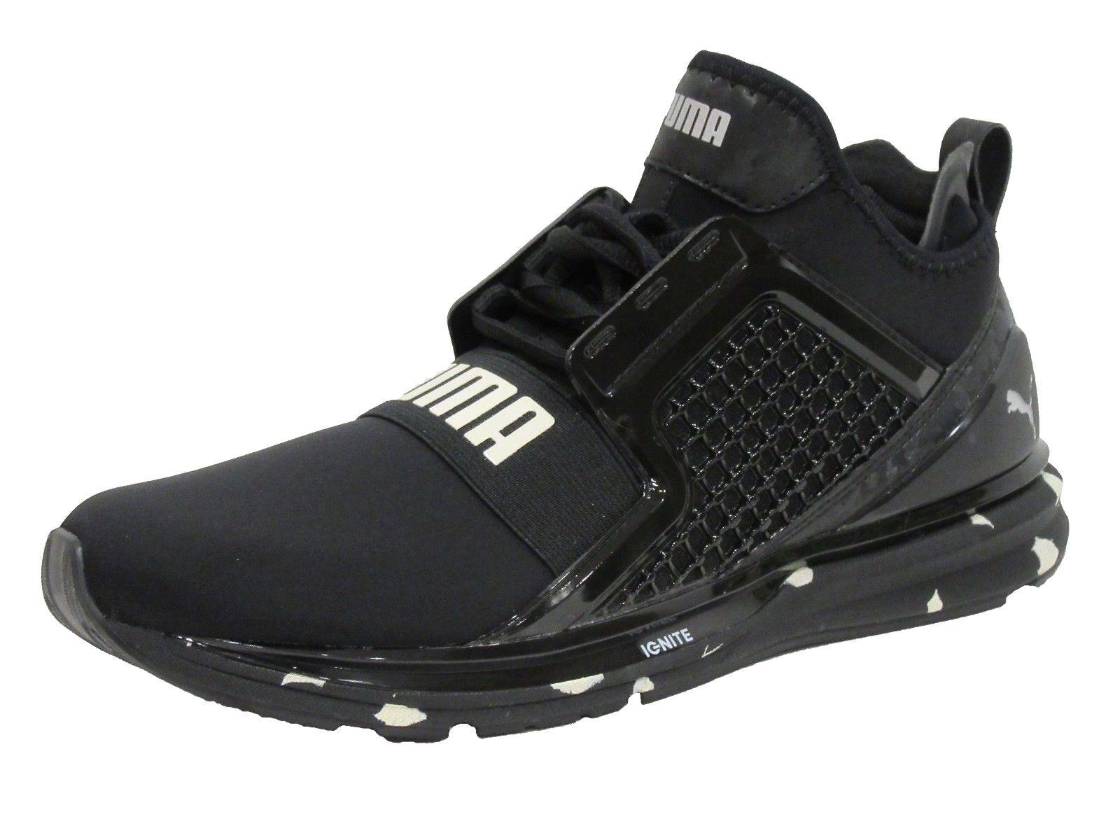 PUMA Men's Men's Men's Ignite Limitless Swirl Sneaker, Black ed40d6