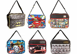 DC-Marvel-Star-Wars-Mens-Womens-Kids-Casual-Messenger-Shoulder-Courier-Bag