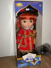 "DISNEY STORE ANIMATORS ITS' A SMALL WORLD SINGING DOLL ""ENGLAND"" BRAND NEW IN PK"