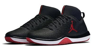 Nike Jordan Trainer 1 Mid Men's (Size 9 - 11.5) Black Red 845402-001