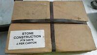 Stone Power Trowel Finish Blade Set 4 6x11 34576