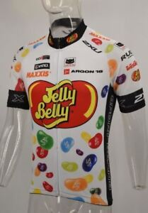Jelly-Belly-Cycling-Jersey-Retro-Road-Pro-Clothing-MTB-Short-Sleeve-Unisex