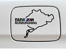 ☆ MAP ☆ AUTO CARBURANTE GAS TANK CAP Adesivi Adesivo Decalcomania Grafica per BMW (Nero)