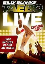 Billy Blanks' Tae Bo: Live Cardio Abs (DVD, 2014)