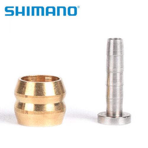 Shimano BH-90 M610 M6000 Deore SLX XT XTR Brake Hose Olive /& Connecting InsertUS