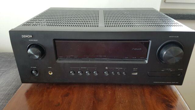 Denon AVR1912 - 7.1. HDMI Receiver, ARC, Internet Radio, Airplay, 3D
