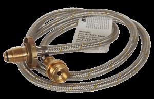 LPG Soldering Extension Hose SS CGA600 xPol 1500mm 1811341