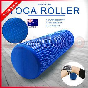 Physio EVA Foam Yoga Roller Gym Back Training Exercise Massage 45/60/90CM