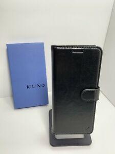 KILINO-Samsung-Galaxy-S8-Premium-Black-Leather-RFID-Blocking-Wallet-Case