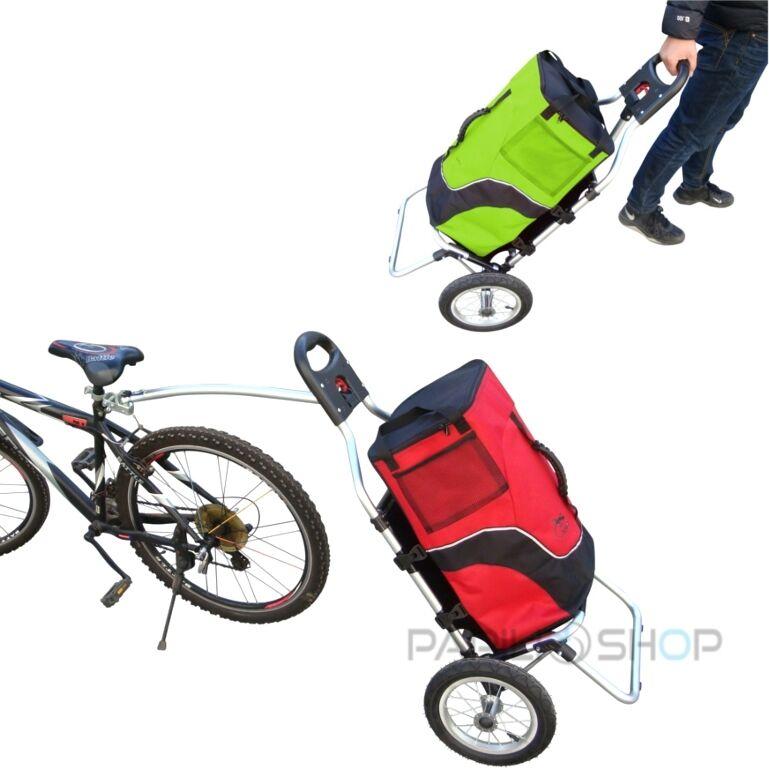 Rimorchio bici bicicletta bicicletta bici per trasporto spesa trolley carrellino carrello x da a2985d