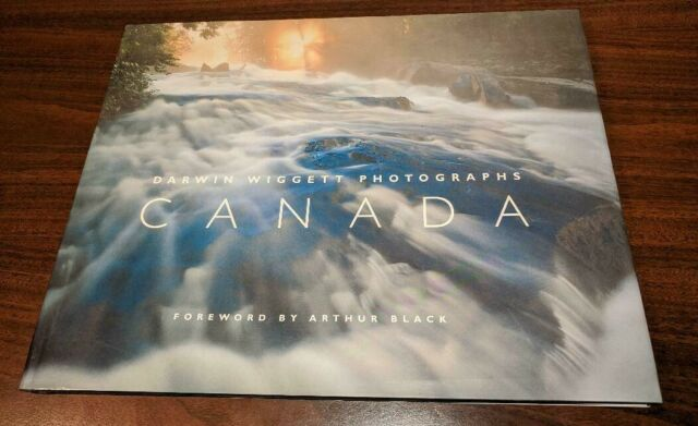 Canada, Darwin Wiggett Photographs, 1997, Dust Jacket, Excellent Condition