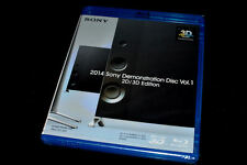 New Sony 4K Ultra HD UHD & 3D Demo Blu Ray Disc 2014 DTS (Ok w/Samsung,LG,Vizio)