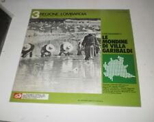 LE MONDINE DI VILLA GARIBALDI - REGIONE LOMBARDIA 3 - LP ALBATROS W/BOOKLET 1975
