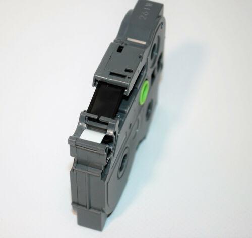 Beschriftungsband Brother P-touch original TZe-MQG35 ws auf apfelgrün 12mm 5m