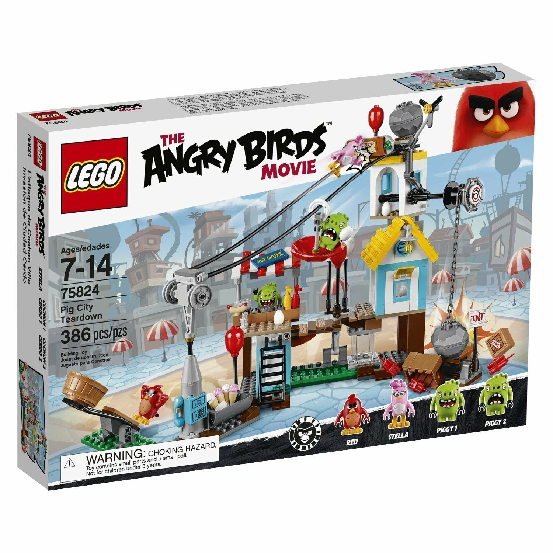 Lego Angry Birds™ 75824 Pig Pig Pig City Teardown Neuf Emballage D'Origine Misb 7100c0