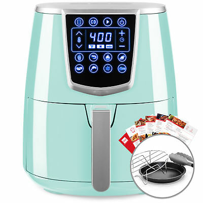 BCP 4.2qt 8-in-1 Digital Non-Stick Kitchen Air Fryer w/ Accessories, Recipes