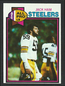 c704b1b0125 1979 TOPPS  320 JACK HAM Pittsburgh Steelers - Pro Football Hall of ...