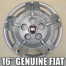 "Genuine Fiat Ducato Van Motorhome Wheel Trim 16"" 16 Inch X 1 Hub Cap Wheel Cover"