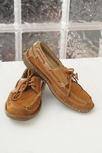 Nunn Bush Squall Moc Toe Faux Leather Boat Shoes Men S