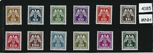 Complete-MNH-WWII-Emblem-stamp-set-1943-WWII-German-Occupation-Third-Reich