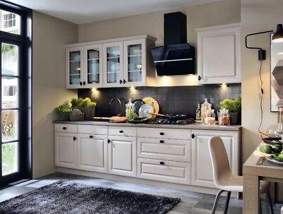 Klassische Küche, Schränke, Küchenzeile erweiterbar Trüffel matt Neu&Schnell