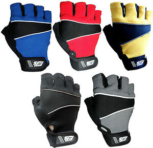 GEL-PADDED-FJS-CYCLING-CYCLE-WHEELCHAIR-SPORTS-BMX-MTB-BIKE-BICYCLE-GLOVES