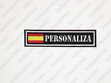 Parche bordado NAME TAPE ESPAÑA