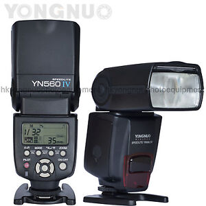 2019 DernièRe Conception Yongnuo Yn-560 Iv Flash Speedlite Master + Slave Flash + Built-in Trigger System Large SéLection;