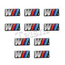 10x Felgen Tacho Lenkrad 3D Emblem Auto Aufkleber Car Sticker für BMW M3 M5 M6