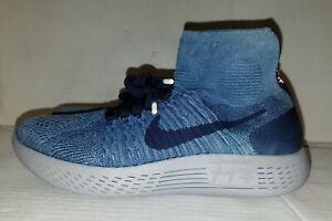 f10e59742f906 Nike Lunarepic Flyknit 1 Hand-Dyed Indigo Tokyo 940804-400 New Men s ...