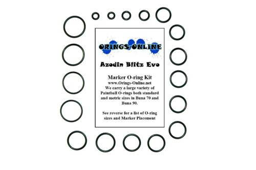 Orings-Online O-Ring Kit Compatible with DLX Luxe OLED Paintball ...