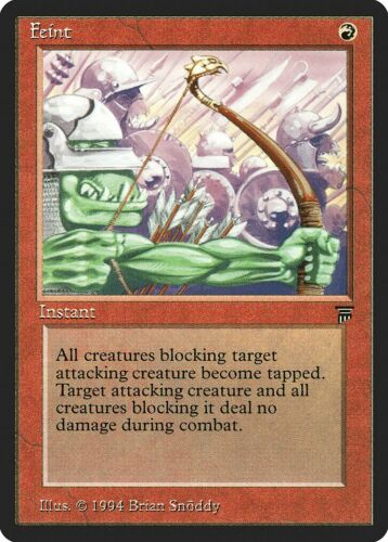 Feint Legends NM-M Red Common MAGIC THE GATHERING MTG CARD ABUGames