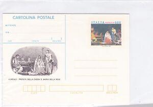 Italy-POSTAL-STATIONERY-ITALIA-CHRISTMAS-CARD-HOLY-FAMILY-NOEL-WEIHNACHTEN