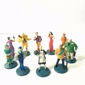 Lot-10pcs-Suspects-Pieces-Tokens-Movers-Characters-Clue-Game-Figure-Xmas-Gift