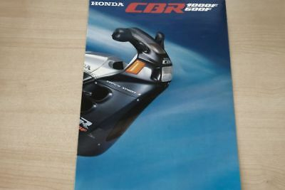 Honda Cbr 600 F 1000 F Prospekt 1987 Relieving Rheumatism Automobilia 194817