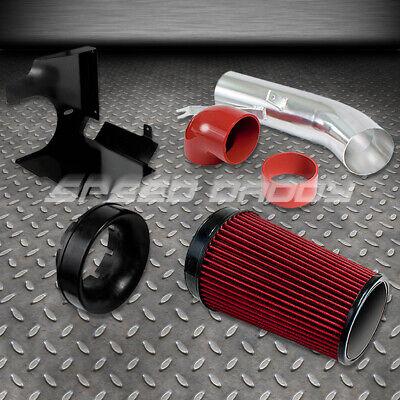 Cold Air Intake Kit Silver Pipe+Heat Shield For GMC 07-08 Yukon//Tahoe//Sierra V8