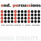 Percussions [Digipak] by End. (Charles Peirce) (CD, Oct-2004, Tigerbeat6)