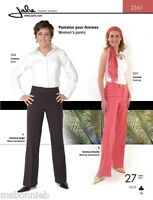 Jalie Stretch Pants W/waistband Options Sewing Pattern 2561 Women, Girl 27 Sizes