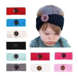 c47c8eb876b8 Hair Band Crochet Knitted Turban Kids Baby Children Infant Headwear ...