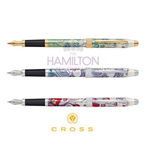 Cross Bailey Fountain Pens in 3 Beautiful Finishes with a Lifetime Warranty