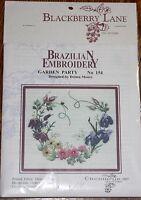 Garden Party Brazilian Embroidery 154 - Blackberry Lane/edmar/delma Moore